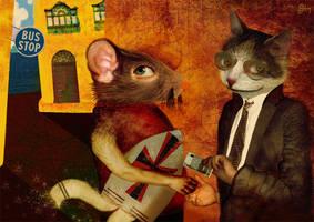 A rat in Rabat by meluseena