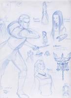 Kushiel trilogy Characters by kit1