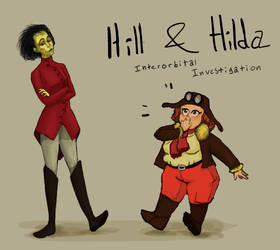 Hill and Hilda - Interorbital Investigation by Silverpaperplate