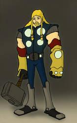 Thor redesign by budamonsta