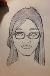 Random sketch by budamonsta