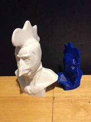 Alien Chicken 3D print by budamonsta