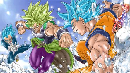 Dragon Ball Super: Toyotaro Poster (Anime Recolor) by BlitzWare518