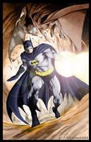 Batman by vincent666