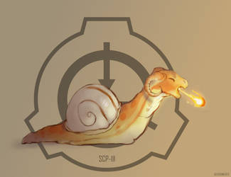 [SCP-111] Dragon snails by Robowoofer