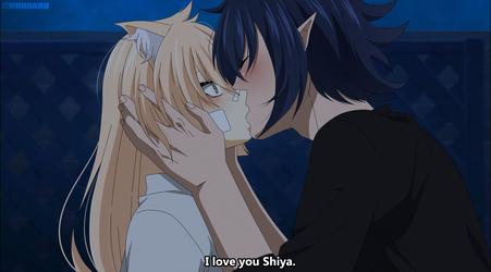 [BnHA OC] TaYa kiss by Haanaru