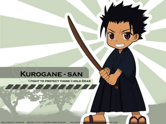 Kurogane - san by mint9