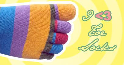 Toe Socks ID by mint9
