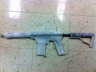 my HOT glue gun by Zidane117