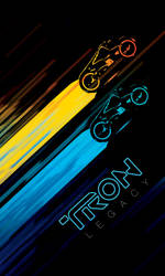 Tron Legacy poster by Zidane117