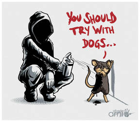 Banksy Rats by AlbertoArni