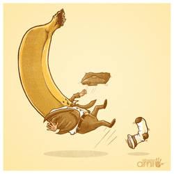 Banana Slip by AlbertoArni