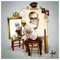 Triple Cornetto Portrait by AlbertoArni