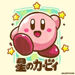 Kirby From The Stars by AlbertoArni