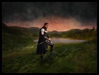 Silmarillion: Beside Tarn Aeluin by LadyElleth