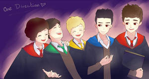 One Direction In Hogwarts by Bluekid1995