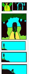 Emerald comic by Pluszaczek