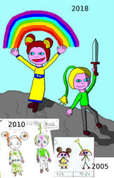 Koa i Penu evolution by Pluszaczek