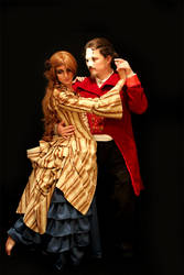 Phantom of the Opera and Ghost Christine by Zulma-san
