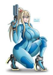 SSB: Zero Suit Samus by Takilmar