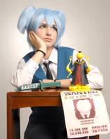 Assessination classroom Shiota Nagisa cosplay by Andivicosplay