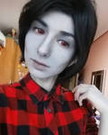 Marshall Lee vampire king cosplay by Andivicosplay