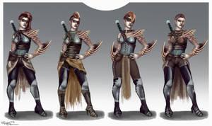 Morrend Costume Variations by RachelleFryatt