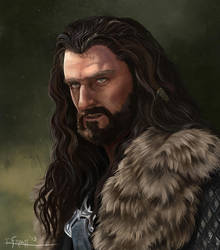 Some Kind We Never Forgive- Thorin Oakenshield by RachelleFryatt