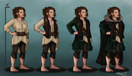 Ivy the Hobbit by RachelleFryatt