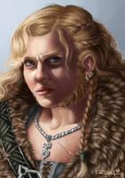 Tarin Portrait by RachelleFryatt
