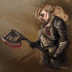 After the battle by RachelleFryatt