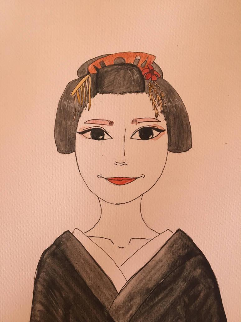 Geisha by lilpeepey