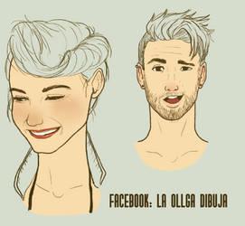 Sketches 02 by Laollga