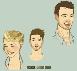 Faces by Laollga