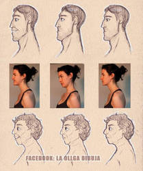 Faces practice by Laollga