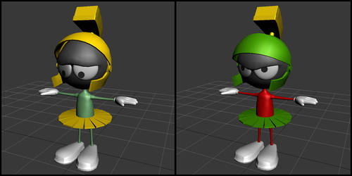 Marvin the Martian by Labyrinth101