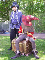 Rincewind and Theoderich 01 by poisonmilow