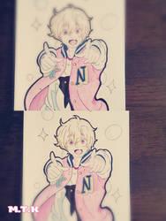 Nagisa   FREE! by miathekill