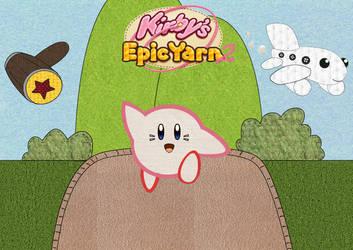 Kirbys Epic Yarn 2 - 2013 by FullMetalChaz