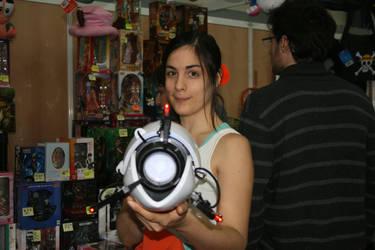 Portal - Chell cosplay by Naelia12