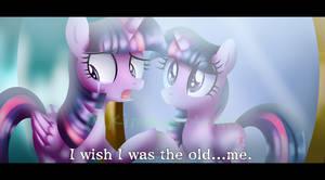 Old vs. New Twilight Sparkle by KimmyArtMLP