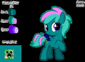 Phoenixtdm (Color Guide) by KimmyArtMLP