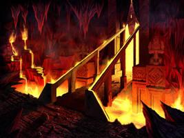 Molten Cavern by IgorIvArt