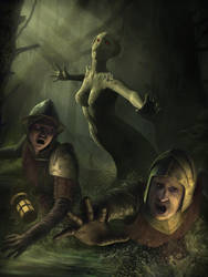 Serpent Demon by IgorIvArt