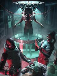 Cyborg Manufacturing by IgorIvArt