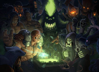 Hearthstone Warlords of Dreanor Fanart by IgorIvArt
