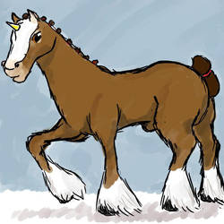 Draft Unicorn by hawkfangor