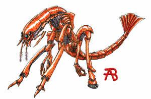 Prawn (Shrimp) Monster by plushman