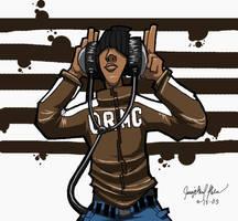 headphones Brown by ArchaicEphony