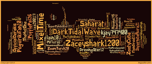 TMxlsFC Members Text Art by MixelTime